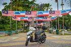 Borneo Ride motorbike at Gaya Street, Kota Kinabalu